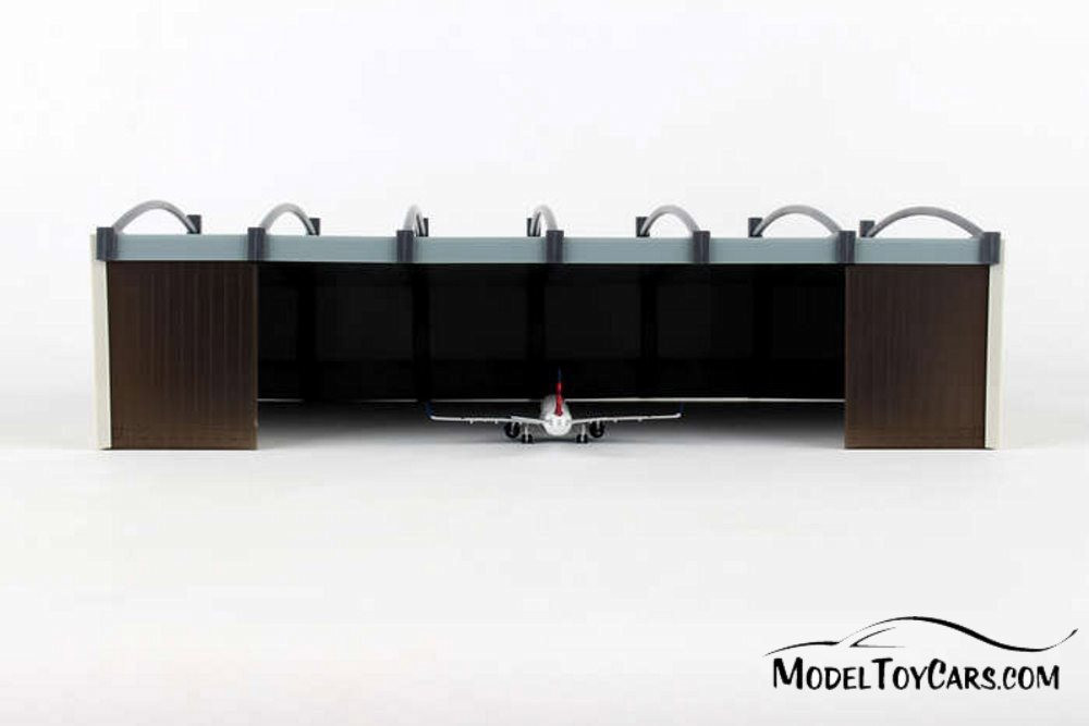 Airplane Hangar, Gray - Herpa HE519762 - 1/500 Scale Airport Diorama Accessory