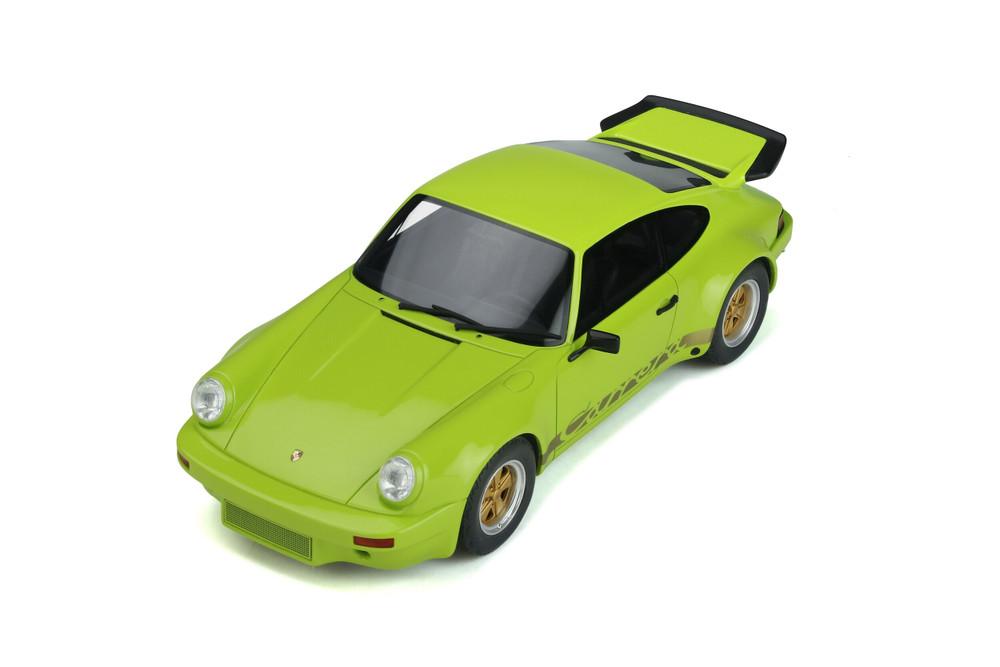 1974 Porsche 911 Turbo 3.0 RS Carrera Hardtop, Birch Green - GT Spirit GT822 - 1/18 scale Resin Model Toy Car
