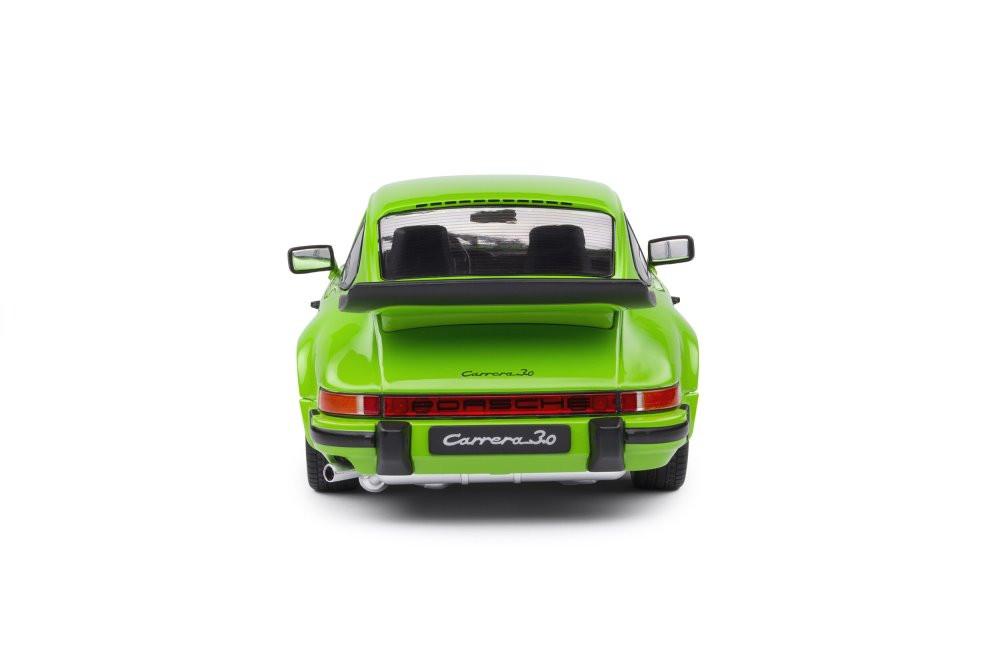 1984 Porsche 911 Carrera 3.2, Green - Solido S1802603 - 1/18 scale Diecast Model Toy Car