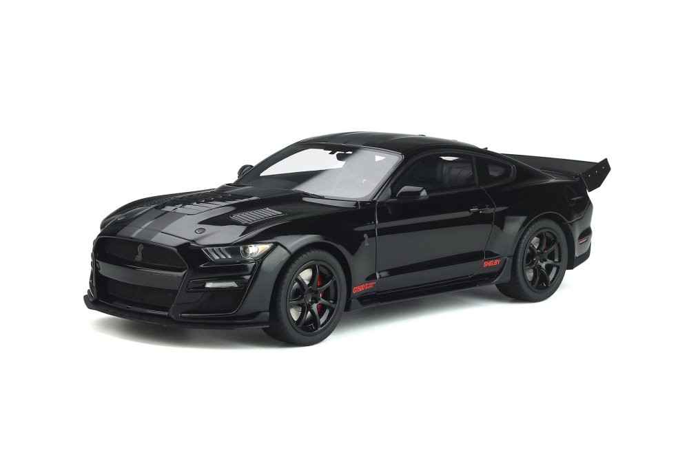 2021 Ford Mustang Shelby GT500 Concept Drag Snake, Black - GT Spirit US047 - 1/18 scale Resin Model Toy Car