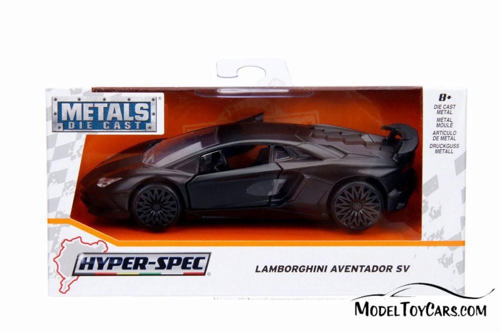 2017 Lamborghini Aventador Hard Top, Black - Jada 30109WA1 - 1/32 scale Diecast Model Toy Car