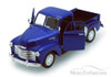 1953 Chevy 3100 Pickup Truck, Blue - Welly 22087 - 1/24 scale Diecast Model Toy Car