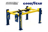 Adjustable Four-Post Lift, Goodyear Tires - Greenlight 13581 - 1/18 scale Diecast Accessory