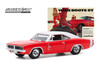 1969 Dodge Charger, Red and White - Greenlight 30196/48 - 1/64 scale Diecast Model Toy Car