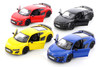 Kinsmart 2019 Audi R8 Coupe Diecast Car Set - Box of 12 5-inch Diecast Model Cars, Assorted Colors