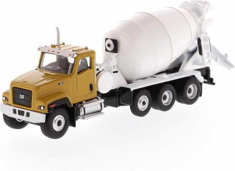 Caterpillar Cat CT681 Concrete Mixer, Yellow - Diecast Masters 85512 - 1/87 scale Diecast Model Toy Car