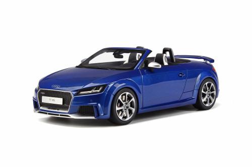 2016 Audi TT RS Roadster, Blue - GT Spirit GT209 - 1/18 scale Resin Model Toy Car