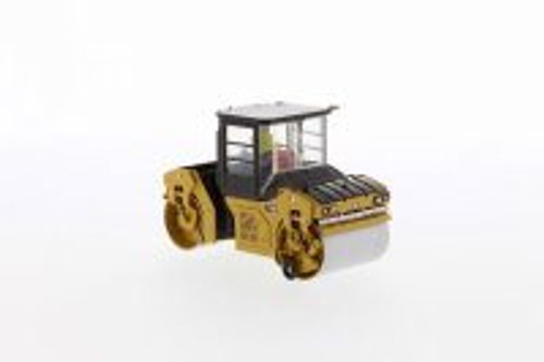 Caterpillar CB-13 Tandem Vibratory Roller with Cab, Yellow - Diecast Masters 85595 - 1/50 scale Diecast Model Toy Car