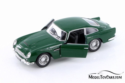 1963 Aston Martin Vulcan Hard Top, Green - Kinsmart 5406D - 1/38 scale Diecast Model Toy Car