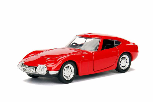 1967 Toyota 2000 GT Hard Top, Red - Jada 30374WA1 - 1/32 scale Diecast Model Toy Car