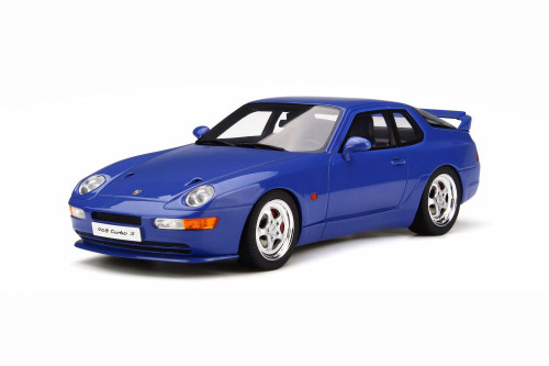 1992 Porsche 968 Turbo S Hard Top, Blue - GT Spirit GT201 - 1/18 scale Resin Model Toy Car