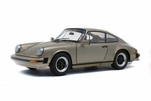 1977 Porsche 911 Carrera 3.2, Bronze - Solido S1802602 - 1/18 scale Diecast Model Toy Car
