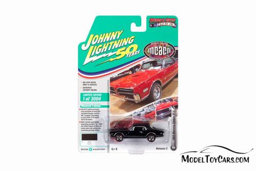 1968 Mercury Cougar GTE, Onyx Black - Round 2 JLMC021/48B - 1/64 scale Diecast Model Toy Car