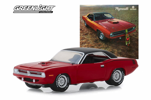 Plymouth HEMI Cuda, Hello, New People. We have a New Car for You - Greenlight 39020/6 - 1/64 scale Diecast Model Toy Car