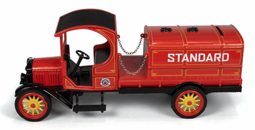 1919 GMC Tanker, Chevron - Round 2 CP5911/12 - 1/33 scale Diecast Model Toy Car