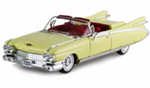 1959 Cadillac Eldorado Biarritz Convertible, Yellow - Signature Models 32350 - 1/32 Scale Diecast Model Toy Car