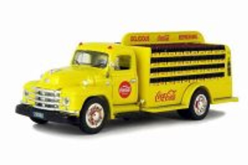 1955 Diamond T Bottle Delivery Truck, Coca-Cola - Motorcity Classics 450055 - 1/50 Scale Diecast Model Toy Car