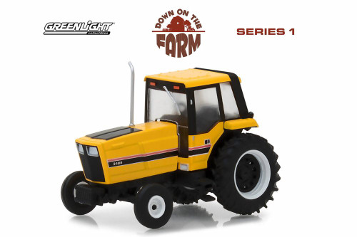 1983 International Harvester 3488 Tractor, Yellow with Black - Greenlight 48010F/48 - 1/64 scale Diecast Model Toy Car