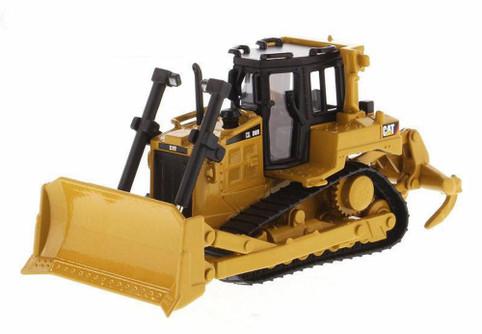 2019 Caterpillar D6R Track Type Tractor, Yellow - Diecast Masters 85607 - 1/64 Scale Diecast Model Toy Car