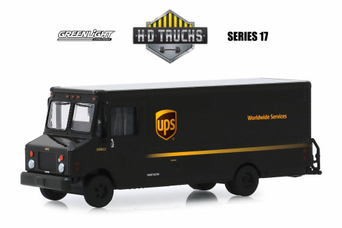 2019 Package Car, United Parcel Service (UPS) - Greenlight 33170C/48 - 1/64 scale Diecast Model Toy Car