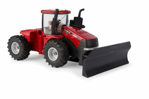 Steiger 580 Tractor with Grouser AG PRO Blade, Red - TOMY 44132 - 1/32 scale Toy Car