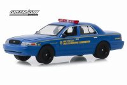 2006 Ford Crown Victoria, New York City Taxi and Limousine Commission - Greenlight 30092/48 - 1/64 scale Diecast Model Toy Car