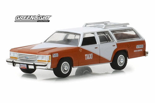 1988 Ford LTD Crown Victoria Wagon, Tijuana Centro, Mexico - Greenlight 30026/48 - 1/64 Scale Diecast Model Toy Car