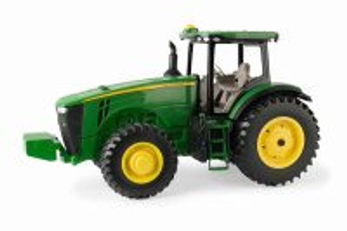 John Deere 8R Tractor with Decal Sheet, Green - TOMY 45565 - 1/16 scale Diecast Model Toy Car