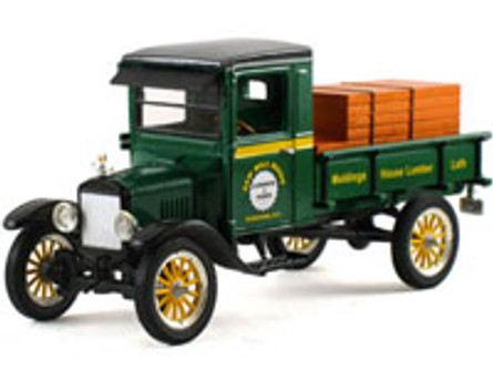 1923 Ford Model TT Pickup - Saw Mill River, Green - Signature Models 32385 - 1/32 Scale Diecast Model Toy Car