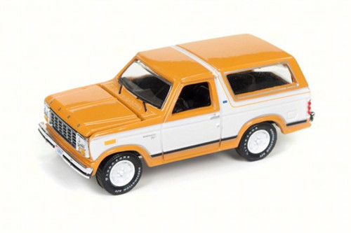 1980 Ford Bronco, Bright Caramel - Round 2 RC006/24A - 1/64 Scale Diecast Model Toy Car