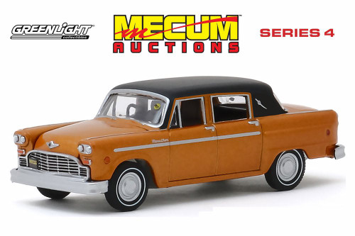 1972 Checker Marathon, Copper and Black - Greenlight 37190F/48 - 1/64 scale Diecast Model Toy Car