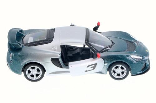 2012 Lotus Exige S #3, Fading Green - Kinsmart 5361DG - 1/32 Scale Diecast Model Toy Car
