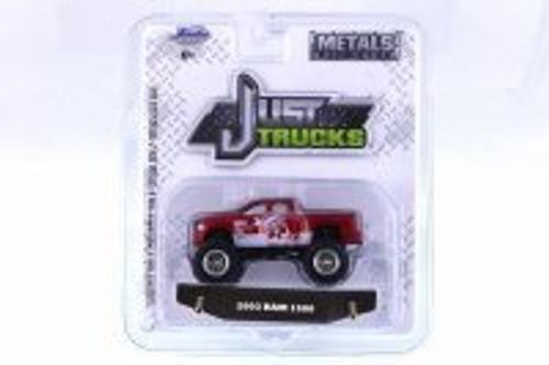 2003 Dodge Ram 1500, Red - Jada 14020-W23 - 1/64 Scale Diecast Model Toy Car