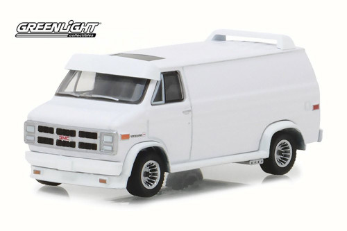 1983 GMC Vandura Custom, White - Greenlight 29939/48 - 1/64 Scale Diecast Model Toy Car
