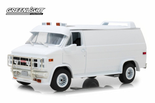 1983 GMC Vandura Custom, White - Greenlight 13522 - 1/18 scale Diecast Model Toy Car