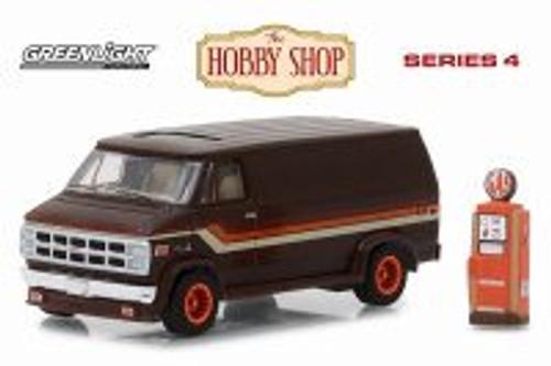 1978 GMC Vandura, Brown - Greenlight 97040D/48 - 1/64 Scale Diecast Model Toy Car