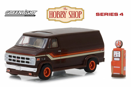1978 GMC Vandura, Brown - Greenlight 97040D/48 - 1/64 Scale Diecast Model Toy Car