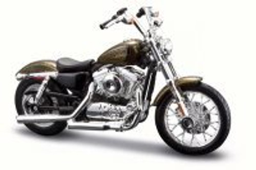 2013 Harley-Davidson XL 1200V Seventy-Two, Brown - Maisto 31360-33 - 1/18 Scale Diecast Motorcycle