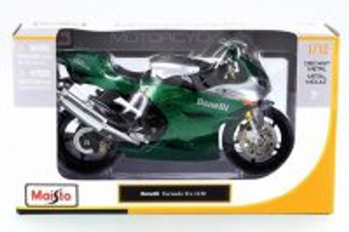 Benelli Tornado Tre 1130 Motorcycle, Green - Maisto 31156 - 1/12 Scale Vehicle Replica