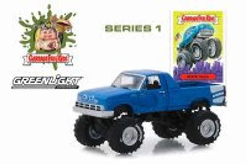 1955 Modified Monster Truck, Garbage Pail Kids-Buck Truck - Greenlight 54010C/48 - 1/64 scale Diecast Model Toy Car