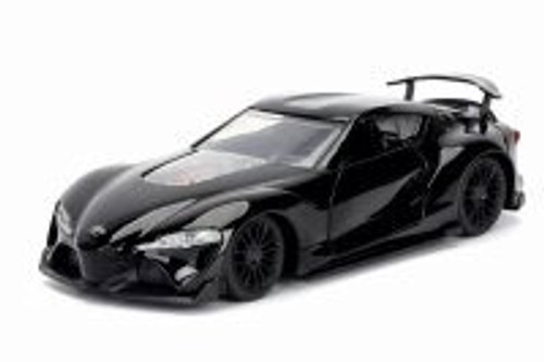 Toyota F-1 Concept Hard Top, Black - Jada 98415WA1 - 1/32 scale Diecast Model Toy Car