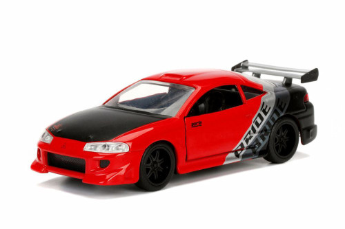 1995 Mitsubishi  Eclipse Hard Top, Red - Jada 99130DP1 - 1/32 Scale Diecast Model Toy Car
