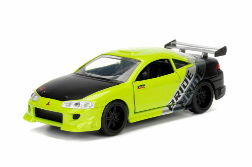 1995 Mitsubishi  Eclipse Hard Top, Green - Jada 99130DP1 - 1/32 Scale Diecast Model Toy Car
