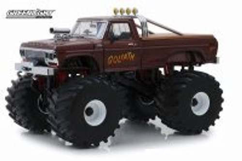 1979 Ford F-250 Monster Truck (with 66-inch Tires), Kings of Crunch - Goliath - Greenlight 13540 - 1/18 scale Diecast Model Toy Car