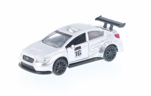 2016 Subaru WRX STI Widebody, Silver - Jada 99122DP1 - 1/32 Scale Diecast Model Toy Car
