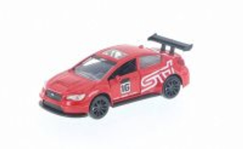 2016 Subaru WRX STI Widebody, Red - Jada 99122DP1 - 1/32 Scale Diecast Model Toy Car
