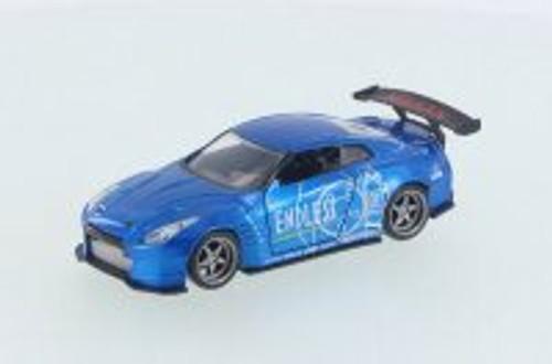 2009 Nissan Ben Sopra GT-R R35, Blue - Jada 98564DP1 - 1/32 Scale Diecast Model Toy Car