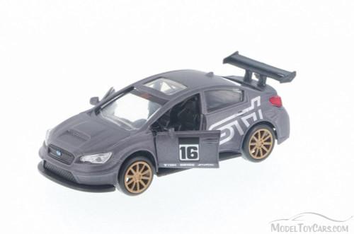 2016 Subaru WRX STI Widebody, Charcoal Black - Jada 99122DP1 - 1/32 Scale Diecast Model Toy Car