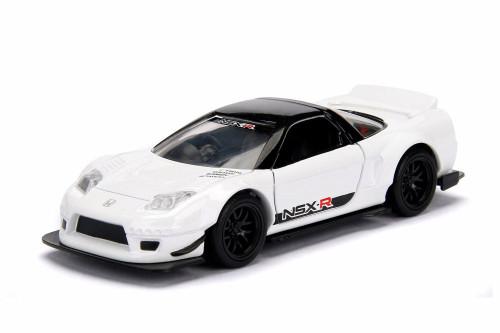 2002 Honda NSX Wide Body Hard Top, White - Jada 98571WA1 - 1/32 scale Diecast Model Toy Car