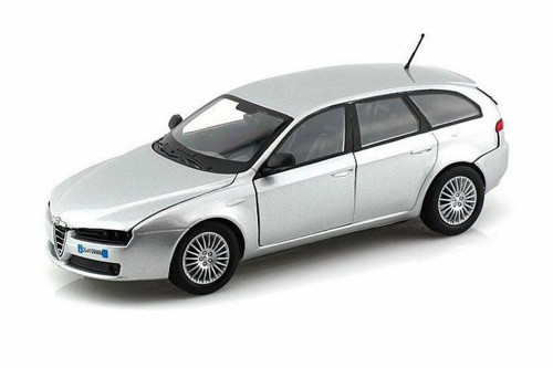 Alfa-Romeo 159 SW Hardtop, Silver - Showcasts 73372SV/6 - 1/24 scale Diecast Model Toy Car